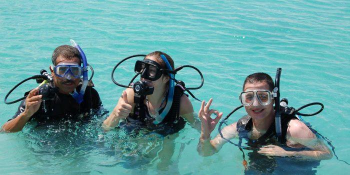 PADI dive courses in Loreto