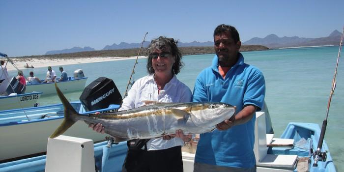 sportfishing yellowtail loreto BCS